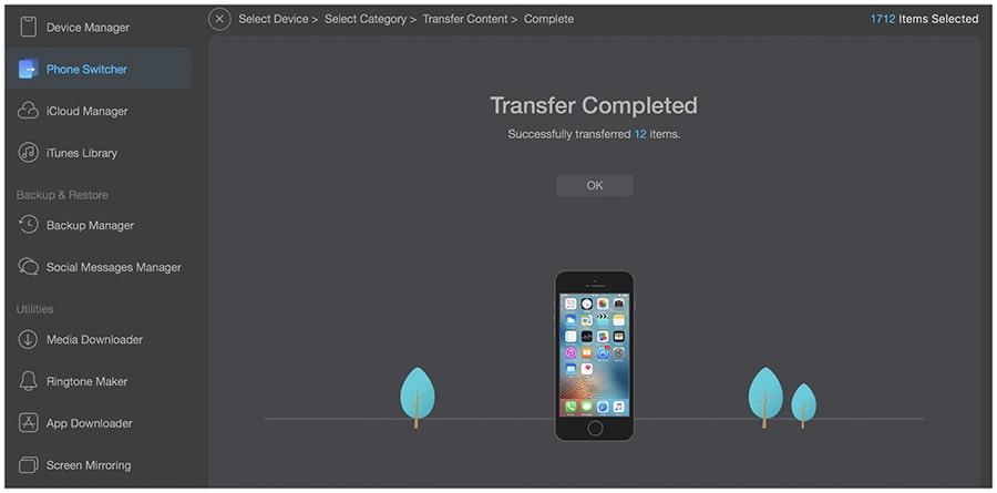 Məlumatları uğurla iPhone 11-ə köçürün