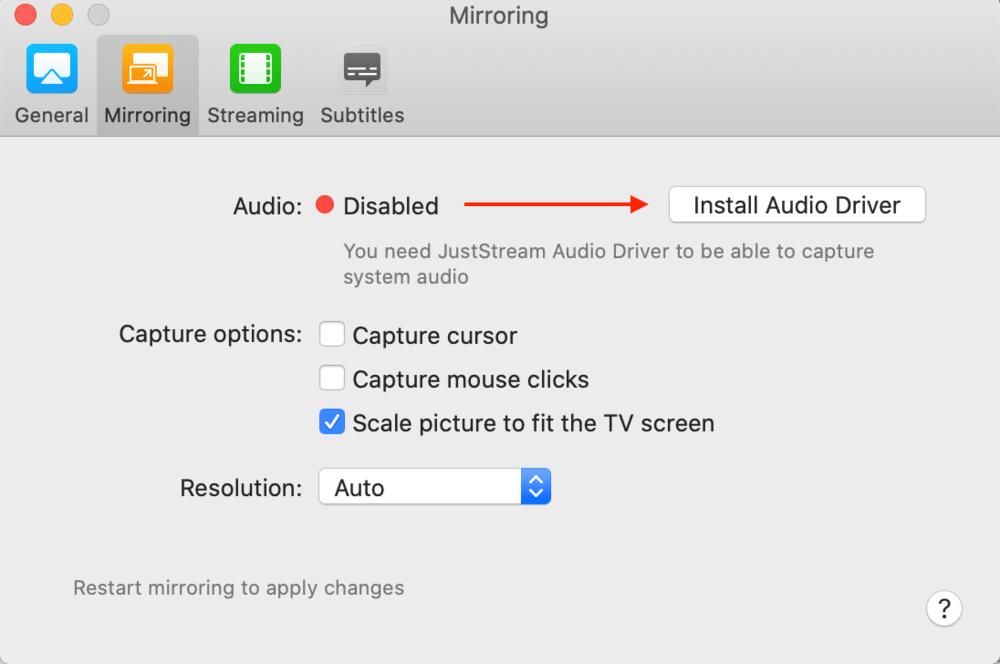 JustStream Audio Bädda in