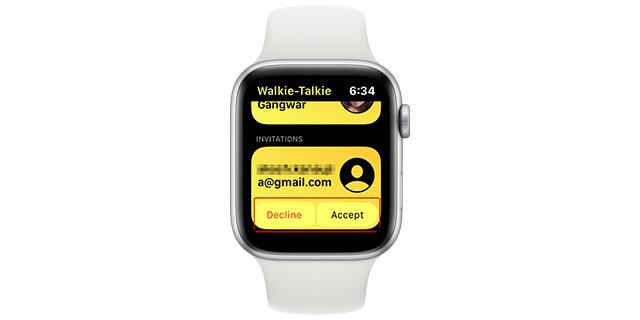 Ako používať Walkie-Talkie Apple Watch 4