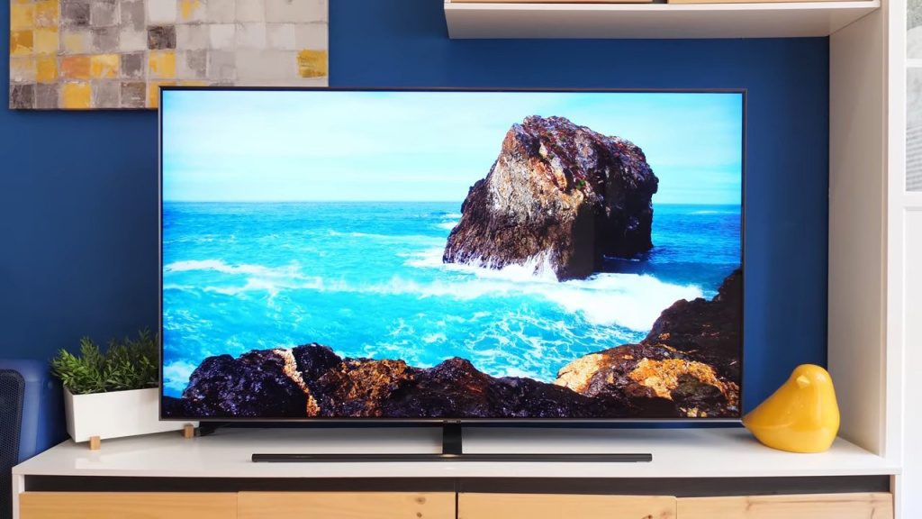 tv samsung qled smart