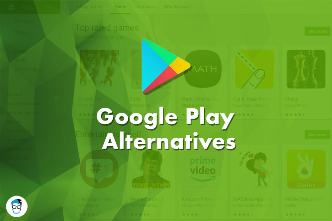 List of Google Play Store Alternatives