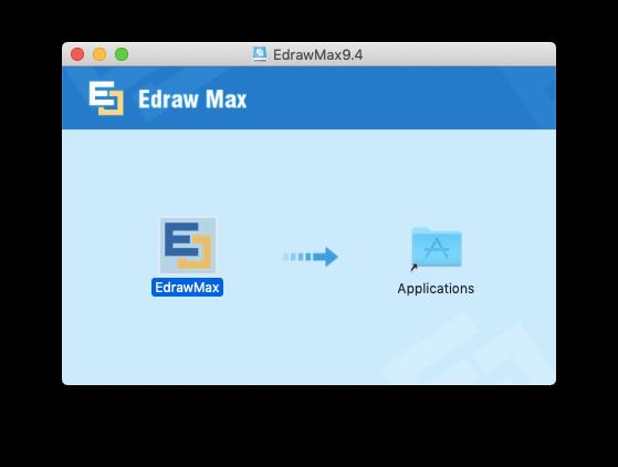 Speichern Sie die EdrawMax9.4-Anwendung