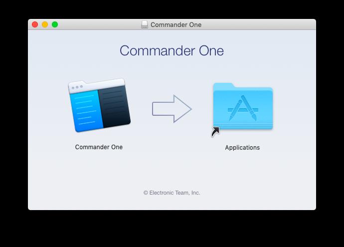Komandanı birini quraşdırın 2.0 MacOS-da