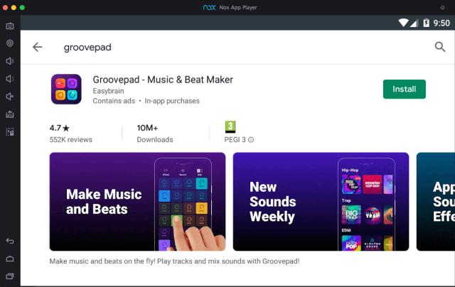 groovepad-âm nhạc-beat-Maker-on-pc