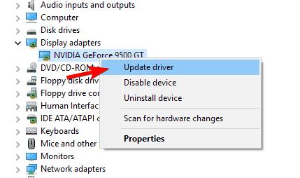 Windows    10 секунд монитор не работает