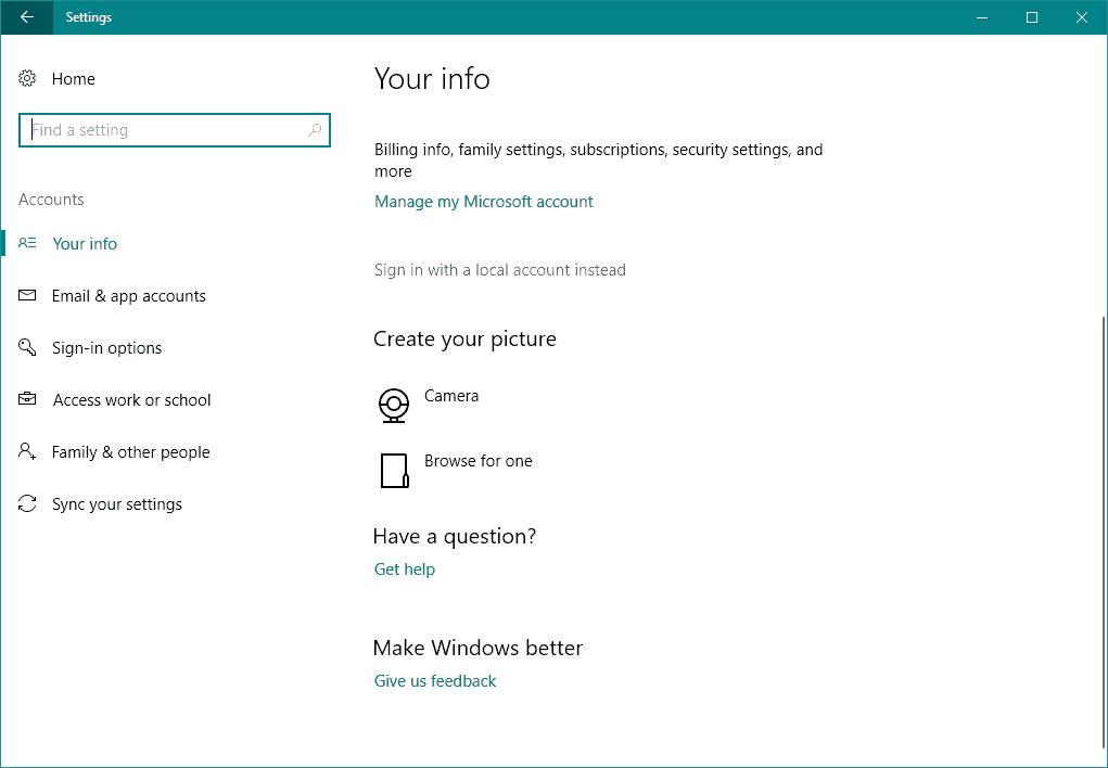 Windows    10 Microsoft hesabı ilə daxil ola bilməz