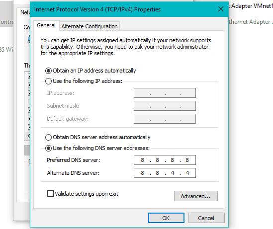 Düzeltme: 0x80072ee7 güncelleştirme hatası açık Windows 10 2