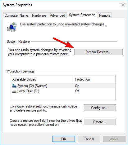 Virhekoodi 0x80070015 Windows 10 asenna