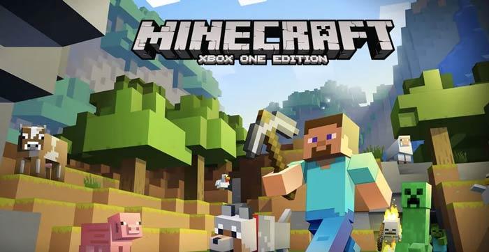 Minecraft xbox một màn hình chia nhỏ