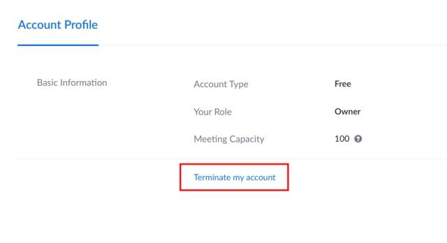 Böyütmə hesabını silin Windows, macOS, Android və iOS