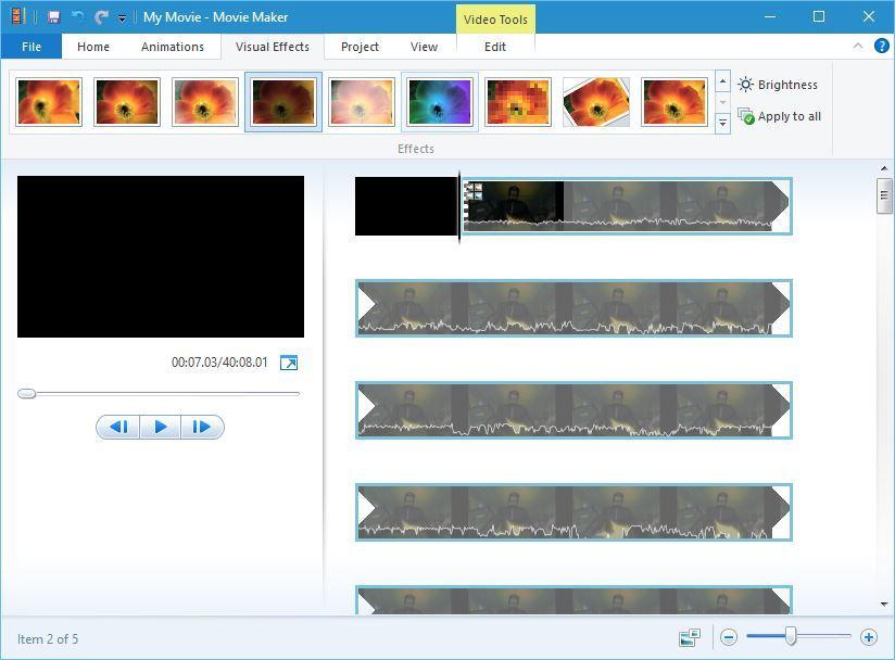 windows    elokuvantekijän visuaaliset tehosteet kuinka asentaa windows elokuvantekijä