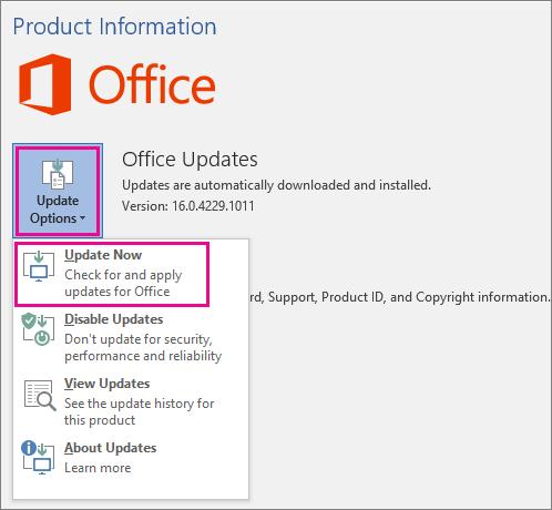 Microsoft Excel yrittää palauttaa toimistotietojen päivitystiedot
