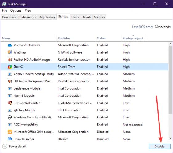 Microsoft Excel yrittää noutaa puhtaat käynnistystiedot