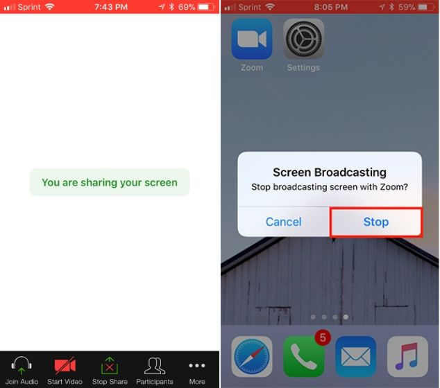 How to share your screen with zoom (desktop and mobile) 4