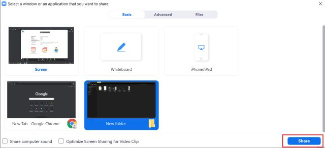 How to share your screen with zoom (desktop and mobile) 6