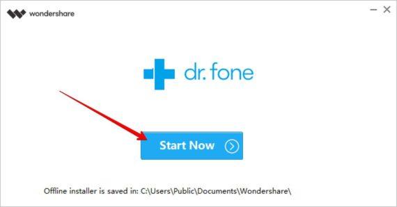 Dr.fone başlayın - WhatsApp Transfer