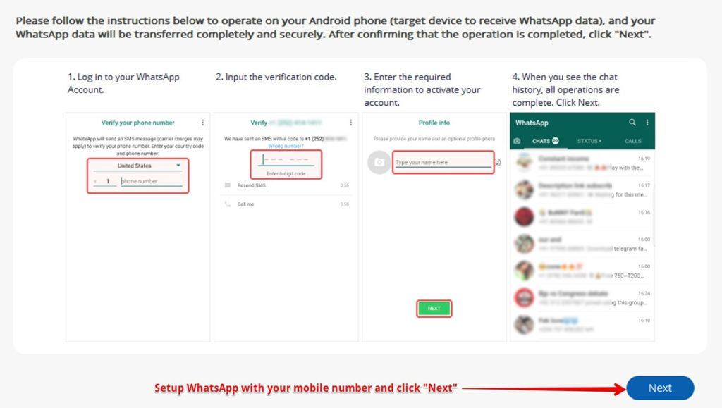 Android-də WhatsApp tətbiqini qurun