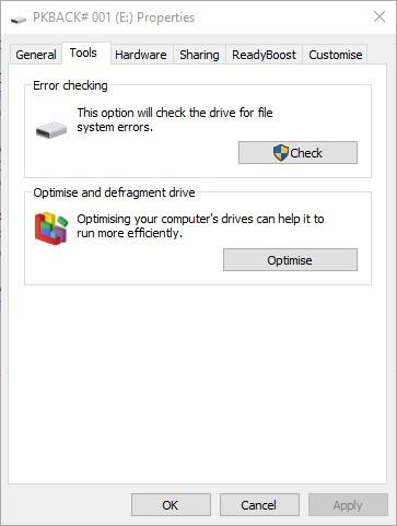 "Kesalahan salin file ""Parameter salah"" pada Windows 10, 8 atau ... 8"