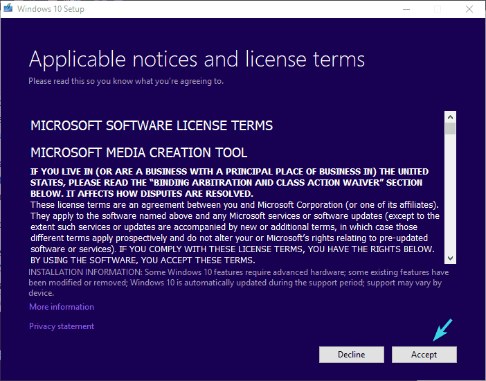 điều khoản cấp phép chấp nhận lỗi cài đặt 0xc000021a