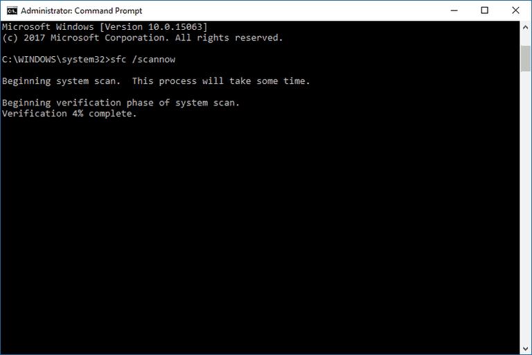 lỗi cài đặt sfc / scannow 0xc000021a