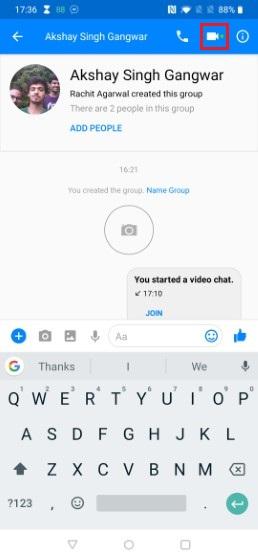 6. Начните групповой видеозвонок