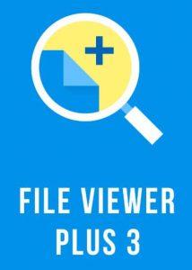 просмотрщик файлов плюс 3 логотипа