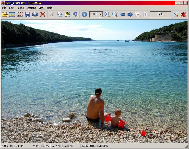 Irfanview windows 7    fotovisare
