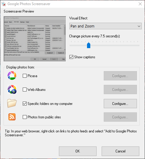 حدث خطأ يمنع تشغيل عرض الشرائح هذا Windows 10 13