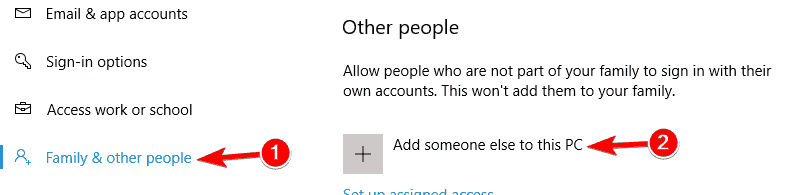 Windows    10 add PIN nothing happens