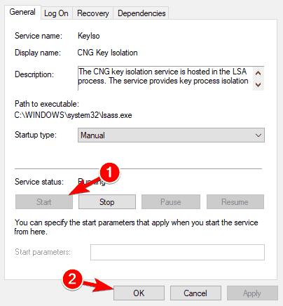 PIN login Windows 10 in gray