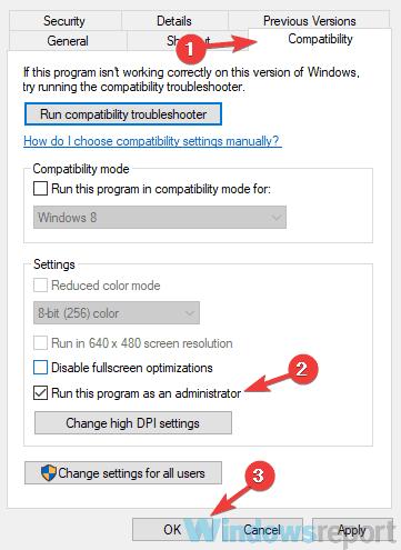 Tab tương thích Adobe Premier Pro không hoạt động