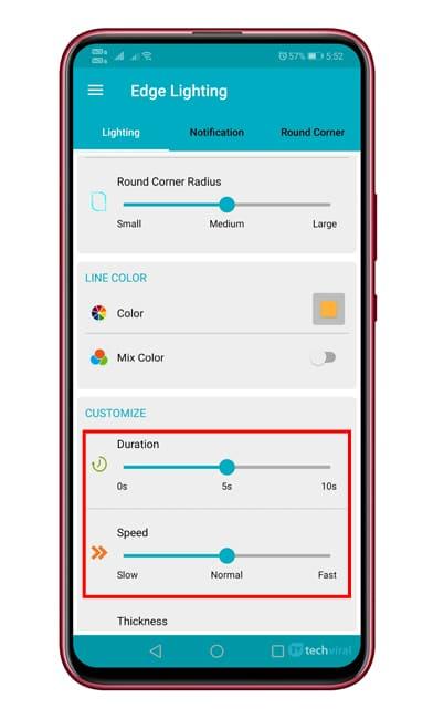 Cómo obtener funciones de iluminación de borde en todos los dispositivos Android 1
