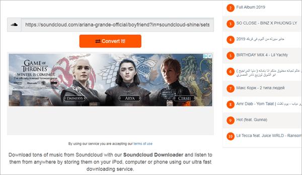 """Scdownloader je još jedan sjajan alat koji pruža mogućnost preuzimanja glazbe s SoundClouda u MP3. """"width ="""" 600 """"height ="""" 347 """"srcset ="""" https://www.edisoft.com/wp-content/uploads/2019/09 /scdownloader.png 600w, https://www. njihosoft.com/wp -content / uploads / 2019/09 / scdownloader-300x174.png 300w """"tama ="""" """"m ="""""""