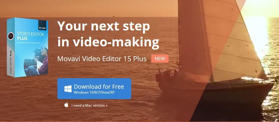 محرر فيديو movavi plus لا يمكنه قطع الفيديو في PowerPoint