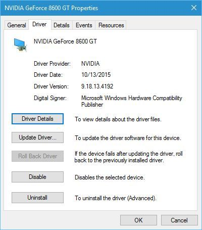 Error de comprobación de seguridad del kernel Photoshop Windows 10