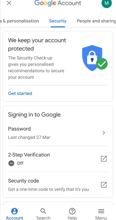 Cara melihat riwayat masuk Gmail 3