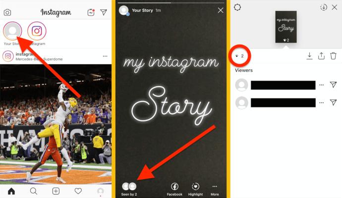 كيف تعرف من يرى الخاص بك Instagram 2