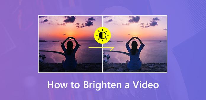4 Osvedčený spôsob, ako rozjasniť tmavé a aktívne video Windows a Mac …