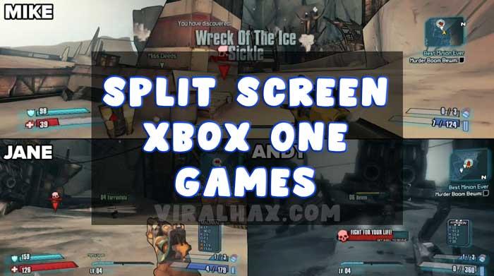 5 Parhaat Xbox One -pelit jaetulla näytöllä | Päivitetty luettelo