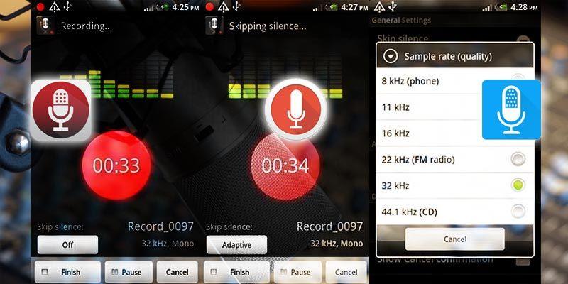 5 dari Aplikasi Perekam Suara Terbaik untuk Android