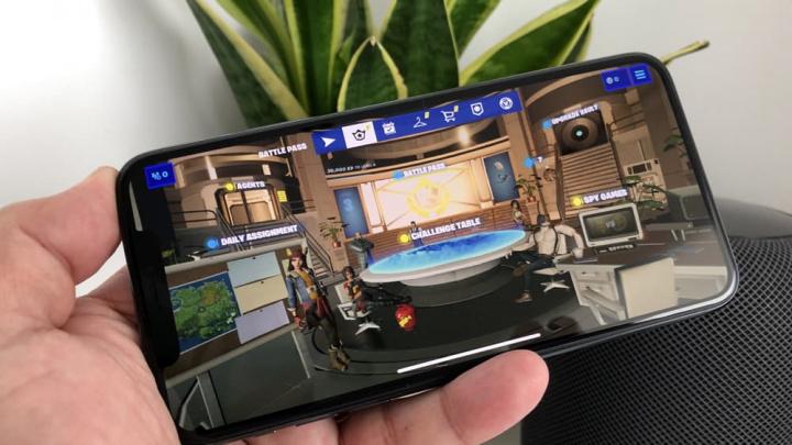 Bildspel för iOS