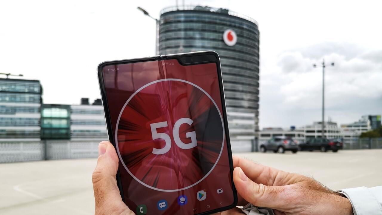 90 MHz: Vodafone beschleunigt 5G-Netz auf 1Gbit/s