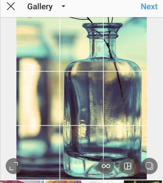 Kako postavljati okomite ili okomite fotografije na Instagram bez obrezivanja 1