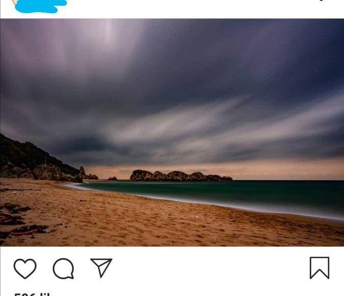 Kako postavljati okomite ili okomite fotografije na Instagram bez obrezivanja 4