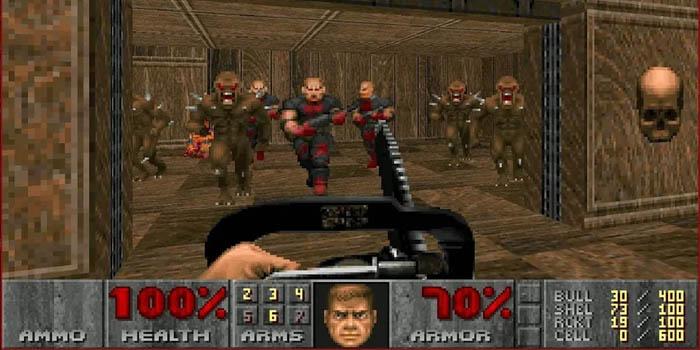 Nyt voit ladata myyttisen Doomin ja Doom II: n matkapuhelimellasi