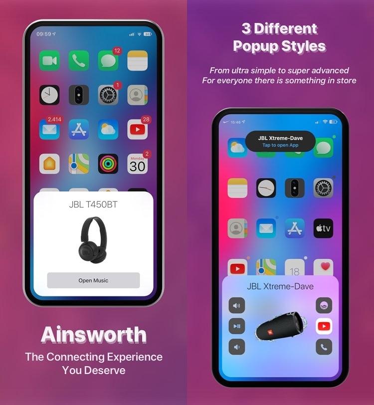 Ainsworth actualiza la interfaz de emparejamiento de iOS para todos sus accesorios favoritos
