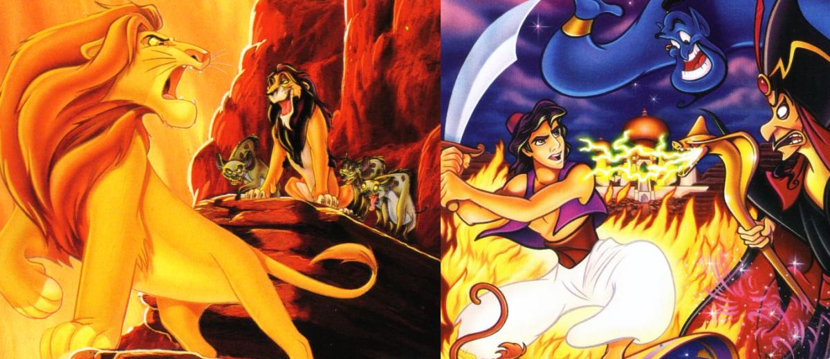 Aladyn (1993) i Król lew (1994) HD Remaster ujawniony w październiku