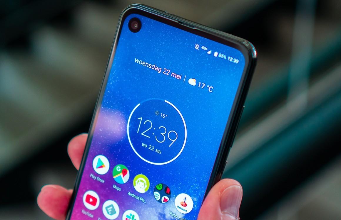 Android 10 on tulossa pian Motorola One Vision -sovellukselle.