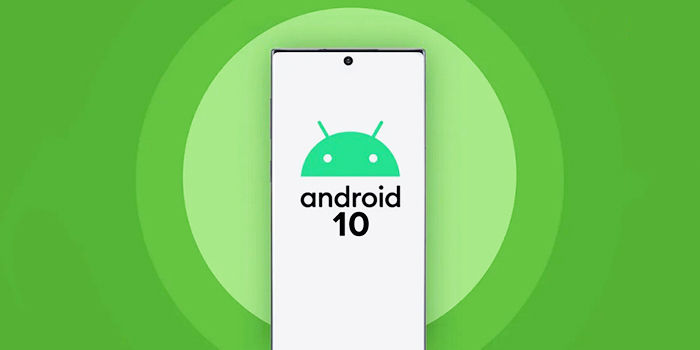 Android resmi 10