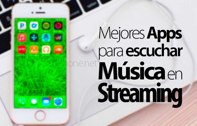 Aplikasi (Aplikasi) untuk mendengarkan streaming musik di iPhone 1